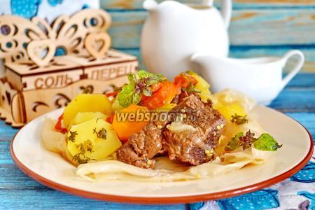 Фото рецепта Домляма по узбекски в мультиварке