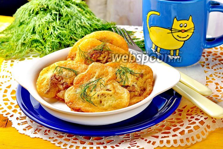 Фото Куриная печень в кляре