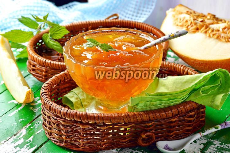 Фото Варенье из дыни с апельсином