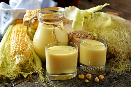 Фото рецепта Кукурузное молоко