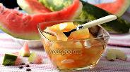 Фото рецепта Маринованные арбузные корки