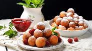 Фото рецепта Творожные шарики жареные в масле