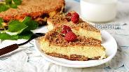 Фото рецепта Творожная запеканка с печеньем
