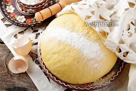 Дрожжевое тесто на сметане