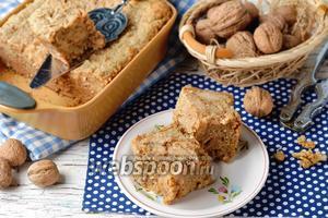 Ореховый пудинг