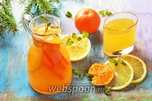 Фото Лимонад из мандарин
