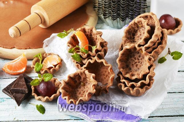 Фото Шоколадные тарталетки