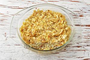 Начинка для пирожков из жареного лука и яиц готова.