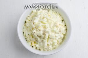 Выложить салат в салатник. Подавать к обеду.