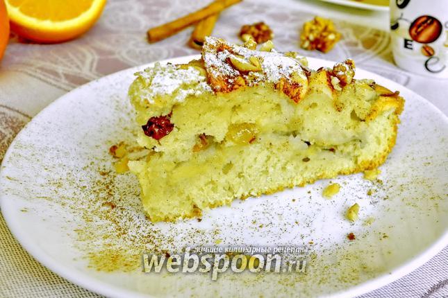 Фото Бананово-яблочный пирог