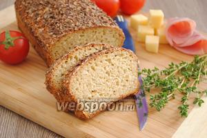Хлеб из овсяных отрубей по Дюкану