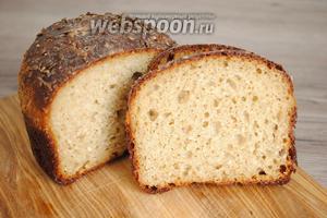Остудить хлеб в форме.