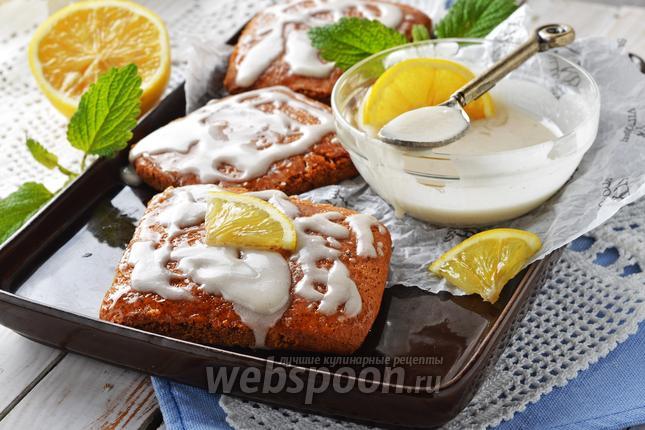 Фото Лимонная глазурь