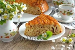Шотландский пирог с карамелью