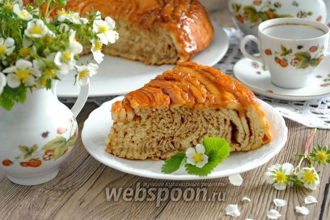 Фото Шотландский пирог с карамелью