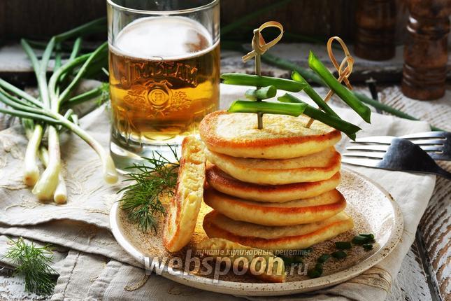 Фото Оладьи на пиве
