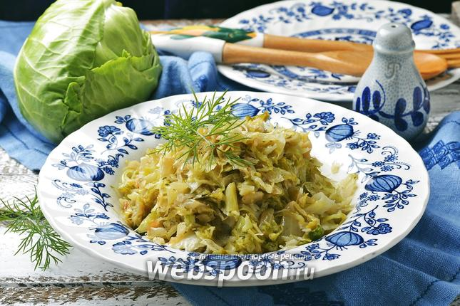 Фото Начинка из свежей капусты для пирожков