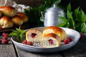Пирожки с малиной в духовке