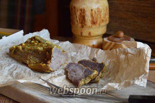 Фото Пастрома из говядины
