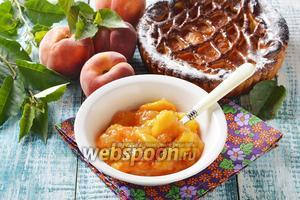 Начинка из персиков для пирогов