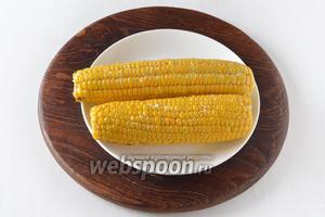 Кукуруза готова.