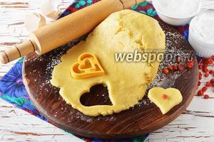 Песочное тесто на раз два три
