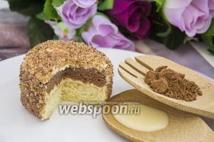 Шоколадно-ванильные пирожные «Ёжики»