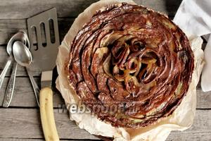 Торт из баклажанов сладкий