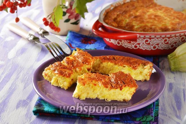 Фото Суфле из кабачков с сыром