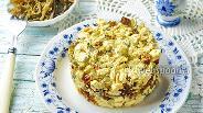 Фото рецепта Салат с курицей и морской капустой