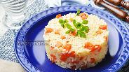 Фото рецепта Морковь тушёная с рисом