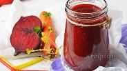 Фото рецепта Смузи из свёклы и моркови