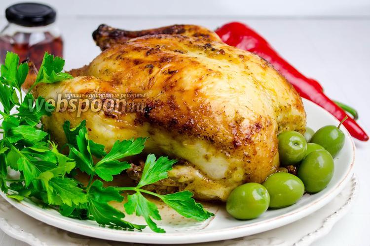Фото Курица в горчичном соусе