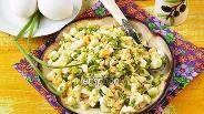 Фото рецепта Начинка для пирожков из яиц с зелёным луком