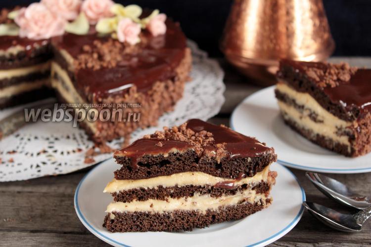 Фото Черёмуховый торт