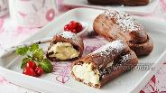 Фото рецепта Шоколадные эклеры