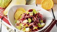 Фото рецепта Салат из свёклы, груши и сыра
