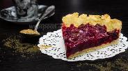 Фото рецепта Вишнёвый тарт