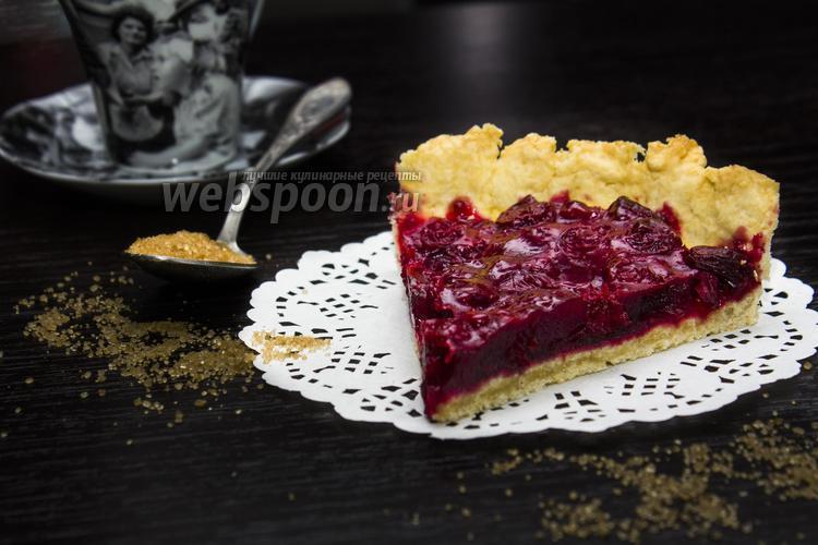 Фото Вишнёвый тарт