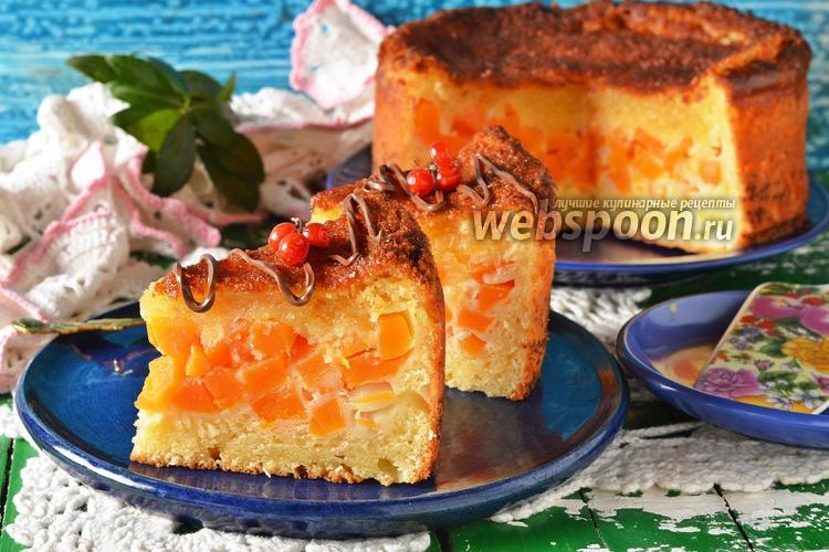Фото Творожно-тыквенный пирог