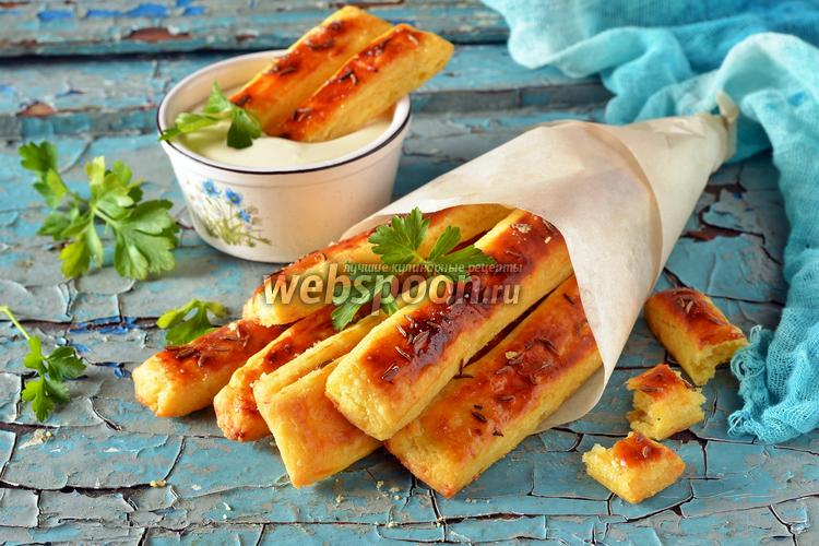 Фото Картофельные палочки в духовке