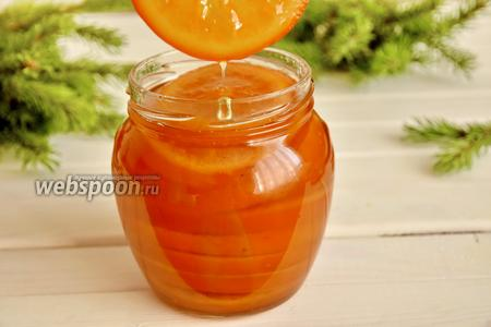 Кандированные апельсиновые дольки