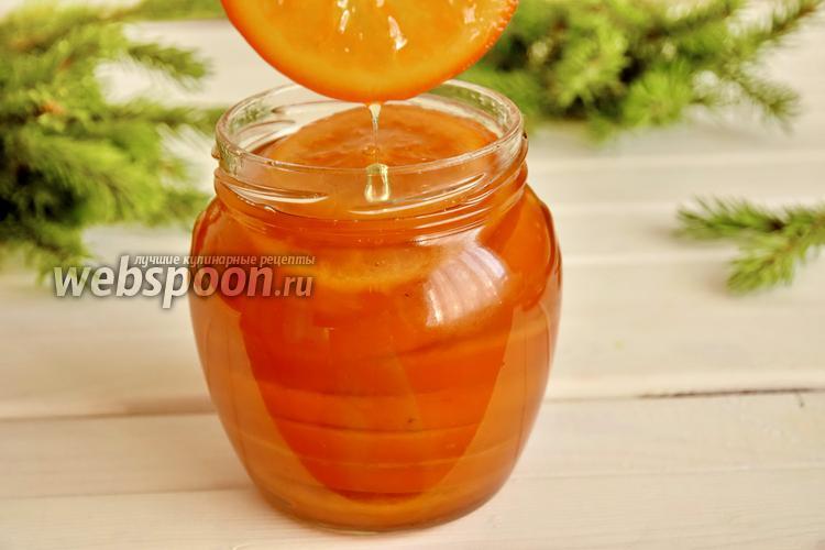 Фото Кандированные апельсиновые дольки