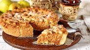 Фото рецепта Берлинский яблочный пирог