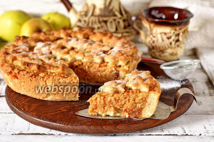 Фото Берлинский яблочный пирог