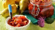 Фото рецепта Варенье из айвы и груш