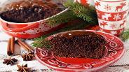 Фото рецепта Пряничный шоколадный пирог с глазурью