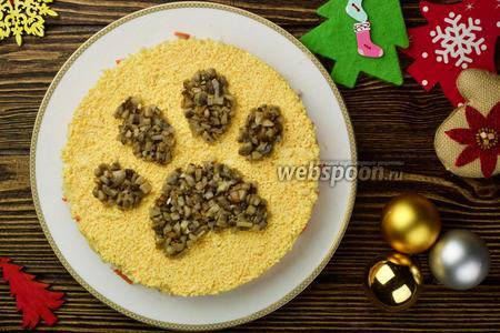 Салат Лапа собачки видео рецепт