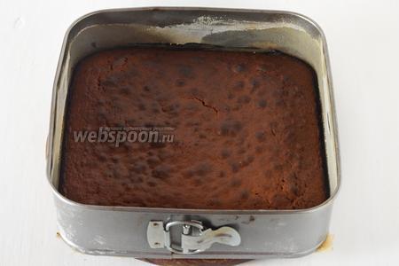 Готовить в разогретой до 180°С духовке до готовности (до сухой лучинки) приблизительно 35 минут. Остудить.