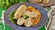 Фото рецепта Куриные рулетики с яйцом